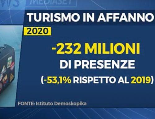 Turismo. Il 2021 parte con oltre 14 milioni di presenze in meno