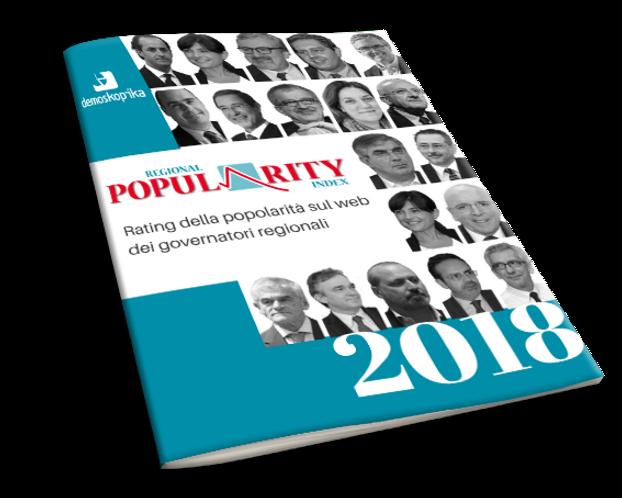 ricerca Rating della popolarità sul web dei governatori regionali
