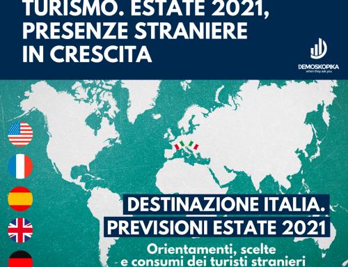 Turismo. Estate 2021, presenze straniere in crescita del 15,3%